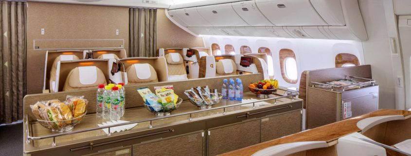 Emirates mit neuem Business Class Service
