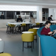 New Air France Business Lounge at airport Paris-Charles de Gaulle