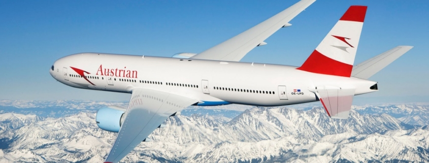 New 2018 winter schedule from Austrian Airlines